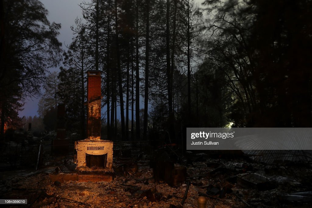 Paradise, California Continues Recovery Efforts From The Devastating Camp Fire : News Photo