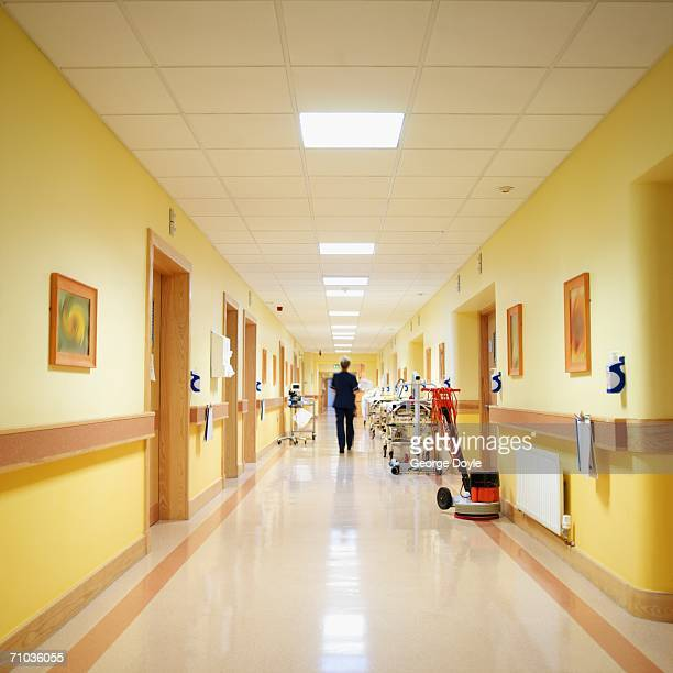 View of hospital corridor