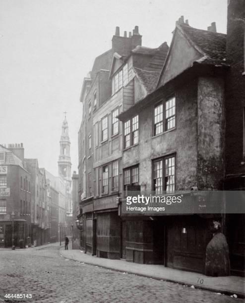 View of houses in Drury Lane Westminster London 1876