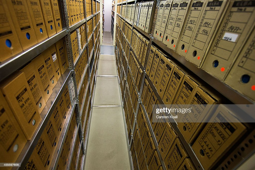 A Tour Of The Stasi Archive : News Photo