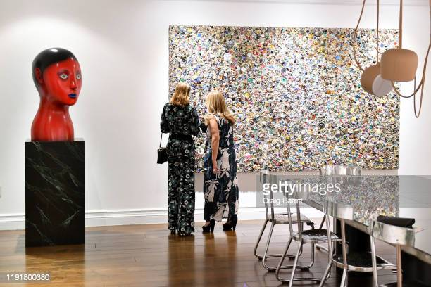 View of ICA Miami's Annual Artists' Dinner with W & Surface Magazine's during Art Basel on December 03, 2019 in Miami, Florida.