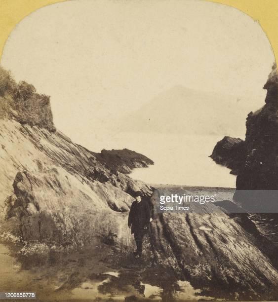 View of Ilfracombe Britton 1860s Albumen silver print