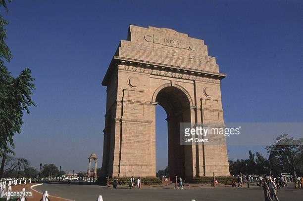 View of India Gate New Delhi Close Up