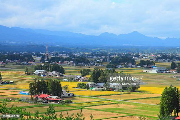 View of Isawa District, Iwate Prefecture, Japan