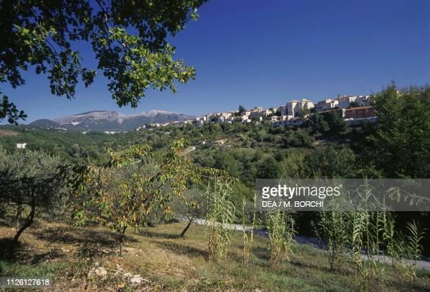 View of Isernia, Molise, Italy.