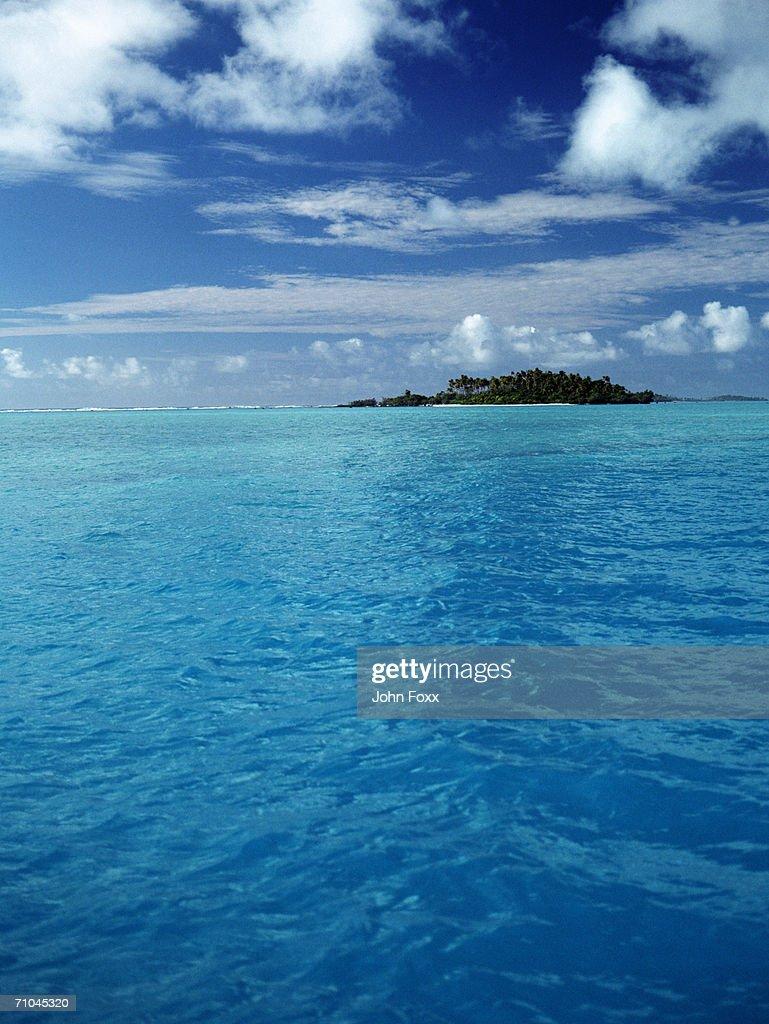 View of island : Foto de stock