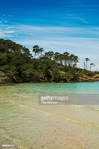 View of Island Porquerolles