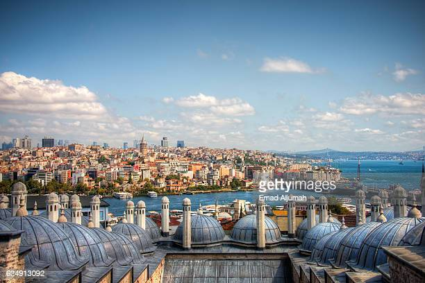 View of Istanbul from the Süleymaniye Mosque, Istanbul, Turkey