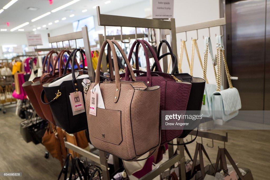 Online Sales For Ivanka Trump Brand Drop 26 Percent In January : News Photo