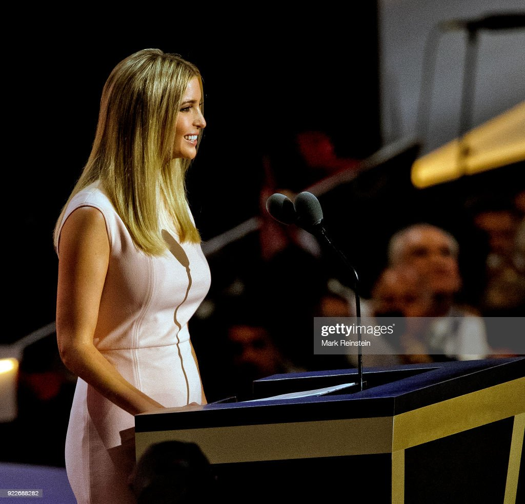 Ivanka Trump At RNC : News Photo