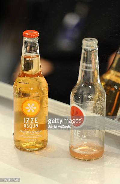 A view of Izze Soda at the Charlotte Ronson Fall 2011 Fashion show presented by Diet Pepsi during MercedesBenz fashion week at The Stage at Lincoln...