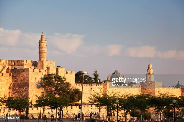 View of Jaffa Gate and the Tower of David