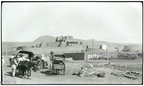 A view of Jamrud Fort at the foot of the Khyber Pass Background to this image With the threat of War looming in Europe Edward Fitzgerald Charlesworth...