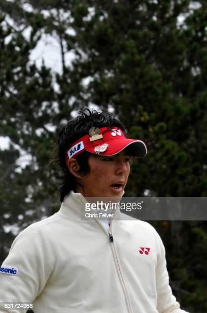 View of Japanese golfer Ryo Ishikawa during the 110th US Open golf championship, Pebble Beach, California, June 20, 2010.