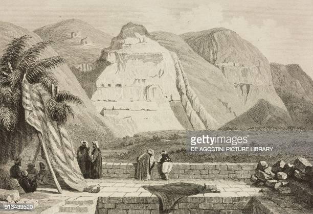 View of Jericho Palestine engraving by Lemaitre and Gaucherel from Palestine Description Geographique Historique et Archeologique by Salomon Munk...