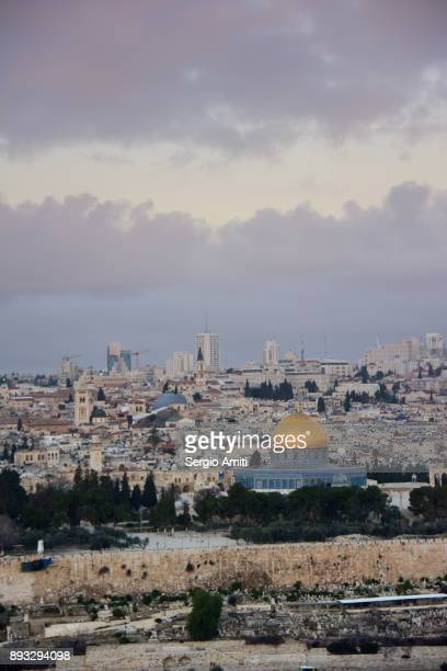 View of Jerusalem from the Mount Olives