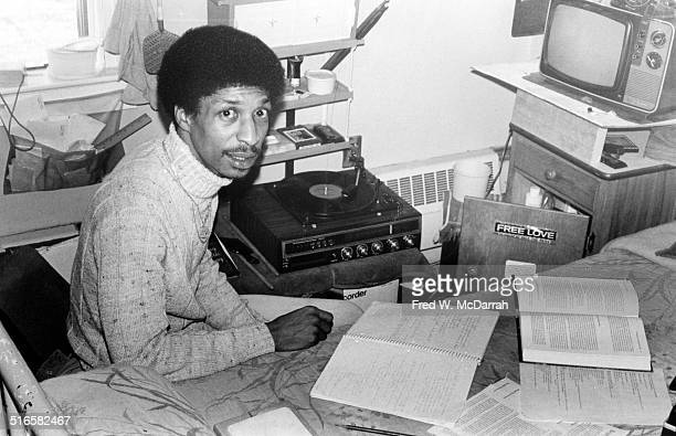 View of John Artis in his cell at Leesburg State Prison Leesburg New Jersey December 28 1978 Along with boxer Ruben 'Hurricane' Carter Artis was...