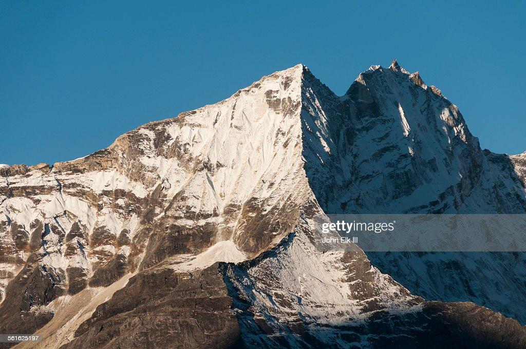View of Kantega massif : Stock Photo