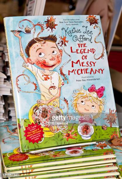 """View of Kathie Lee Gifford's book """"The Legend of Messy M'Cheaney"""" at Bookends Bookstore on May 31, 2011 in Ridgewood, New Jersey."""