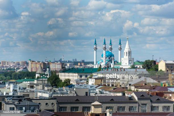 View of Kazan Kremlin from the tower, Russia