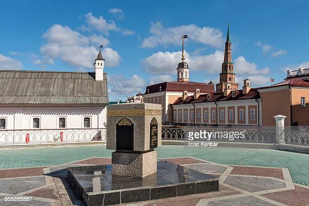 view of kazan kremlin, tatarstan republic, russia - カザン市 ストックフォトと画像
