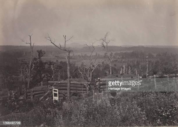 View of Kenesaw Mountain, Georgia, 1860s. Artist George N. Barnard.