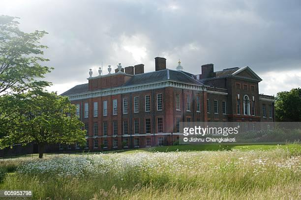 View of Kensington Palace, London