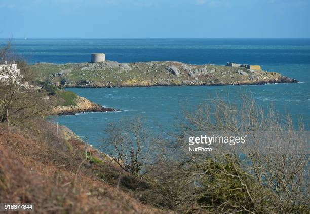 A view of Killiney cost with a part of Dalkey island in the background On Thursday February 15 Dublin Ireland