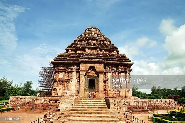 view of konark temple, orissa - odisha - fotografias e filmes do acervo
