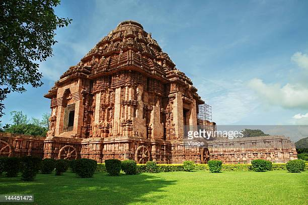 View of Konark temple, Orissa