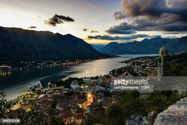 View of Kotor town in Montenegro