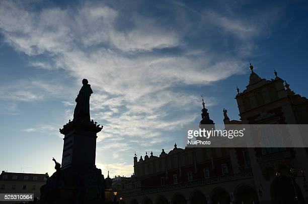 A view of Krakow's Cloth Hall and Adam Mickiewicz's statue According to the new survey carried out by consumer magazine Which the UK tourists have...