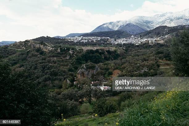 View of Krousonas Heraklion Crete Greece