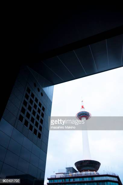 View of Kyoto Tower from Kyoto Station, Kyoto City