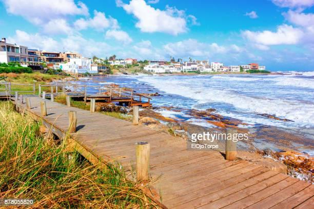 View of La Barra beach, Punta del Este, Uruguay
