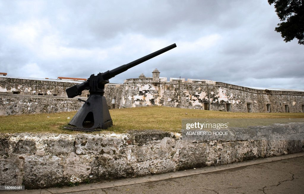 A view of La Cabana fortress on the eastern harbor in Havana, on February 16, 2010. La Cabana, which was built by the Spanish in the 18th century, was taken over by Argentine-Cuban revolutionary hero Ernesto 'Che' Guevara during the Cuban Revolution, and currently acts as a military museum.