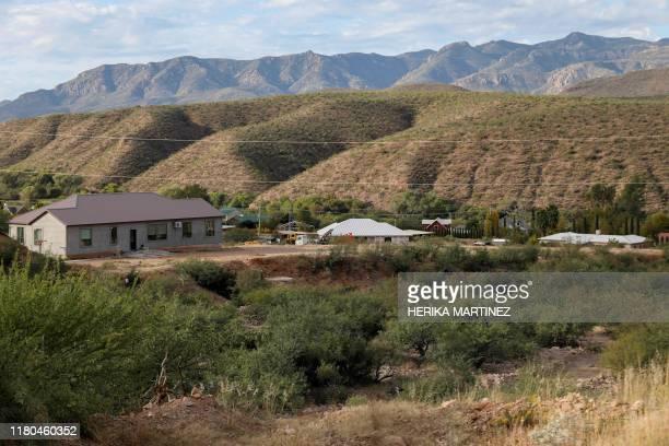 View of La Mora or La Morita ranch in Bavispe Sonora state Mexico on November 6 belonging to the MexicanAmerican LeBaron family nine of which were...