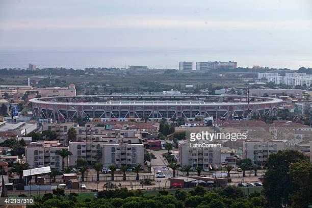 View of La Portada Stadium ahead of Copa America Chile 2015 on April 25 2015 in La Serena Chile