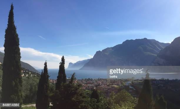 View of Lake Garda from Marmitte dei Giganti