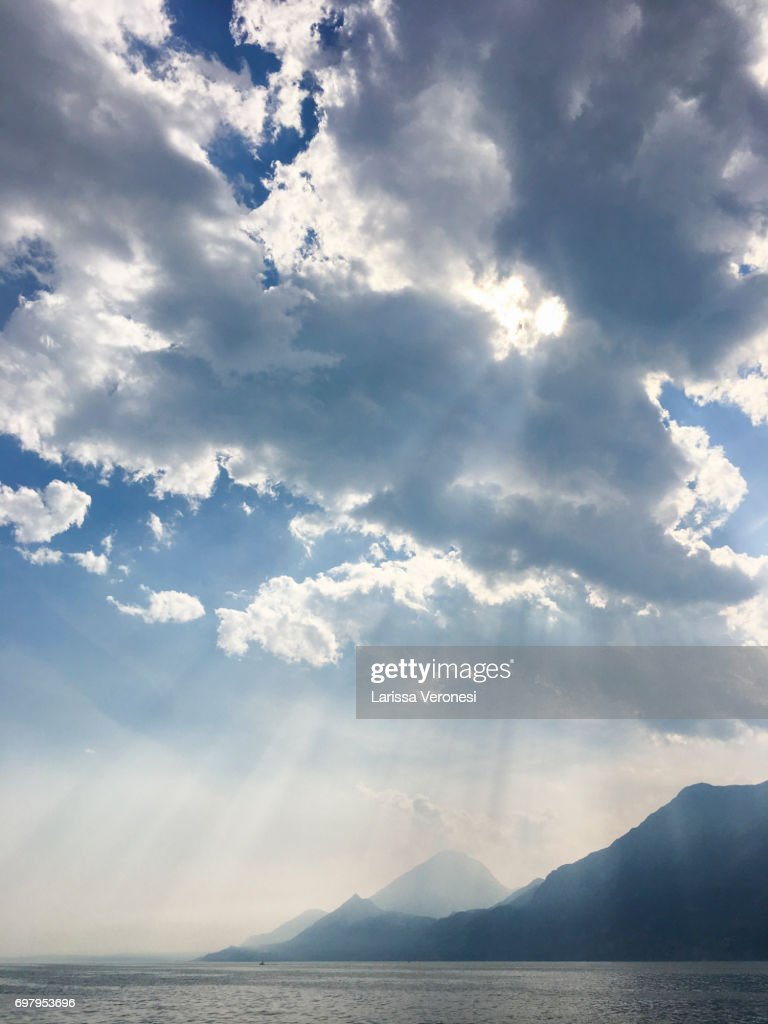 View of Lake Garda, Italy : Stock-Foto