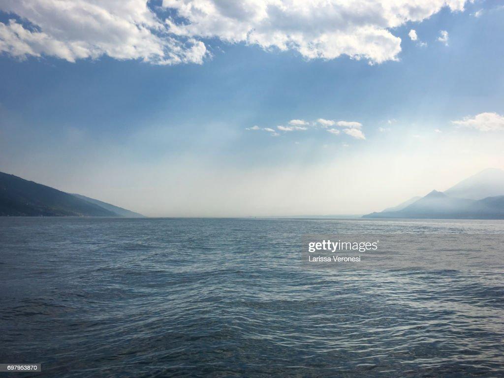 View of Lake Garda, Italy : Stock-Foto