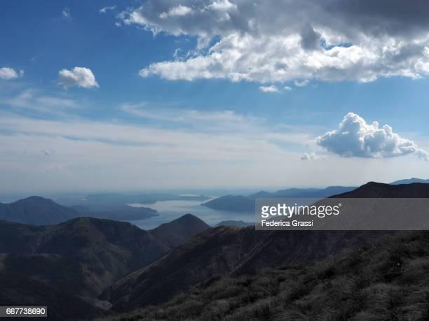 View Of Lake Maggiore And The Borromean Gulf