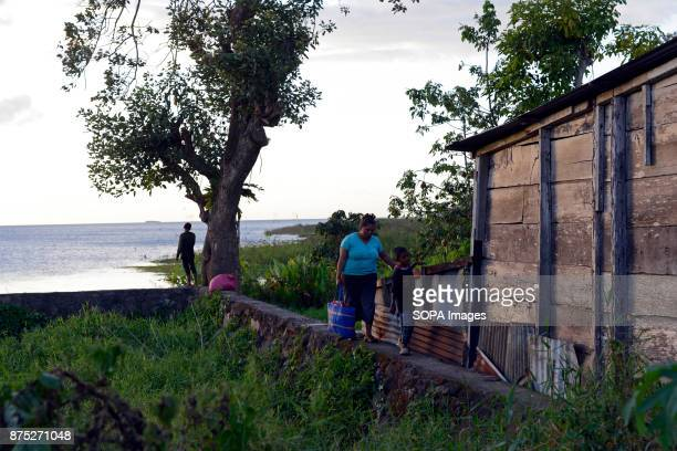 A view of lake Nicaragua from the town of San Carlos of the Rio San Juan Department of Nicaragua Although Nicaragua struggled to recover from the...