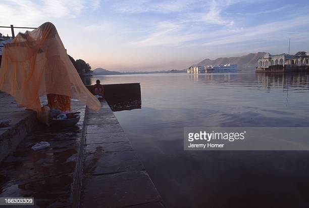 A view of Lake Pichola in Udaipur Lake Pichola makes Udaipur the most romantic city in Rajasthan