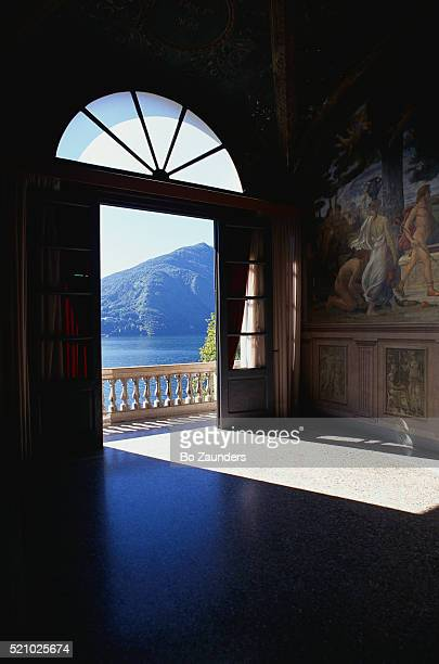 View of Lake Through Doorway