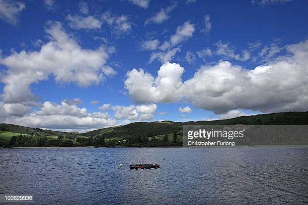 A view of Lake Vyrnwy and it's surrounding estate which is for sale at GBP 11 million on July 5 2010 in Llanwddyn Wales The sale by Severn Trent...