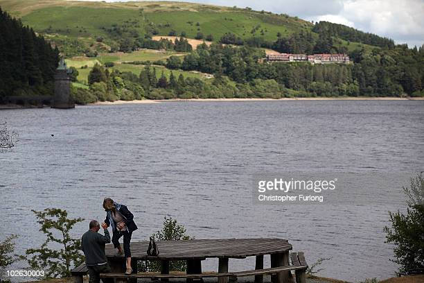 A view of Lake Vyrnwy and it's surrounding estate which is for sale at GBP 11 million on July 5 2010in Llanwddyn Wales The sale of 23000 acres by...