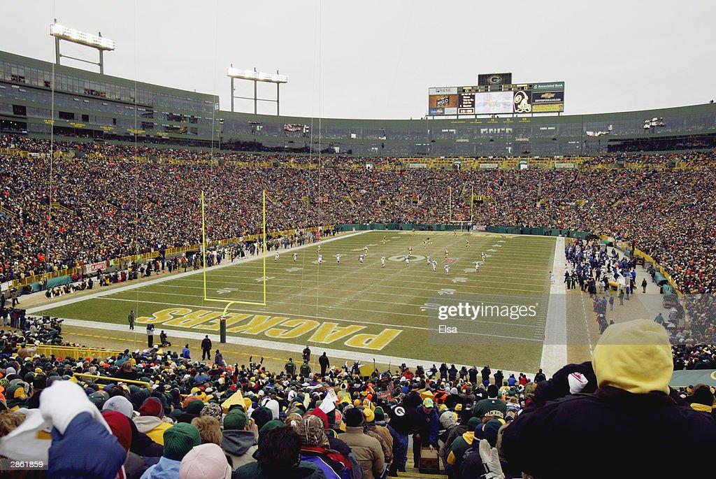 Seahawks v Packers : ニュース写真