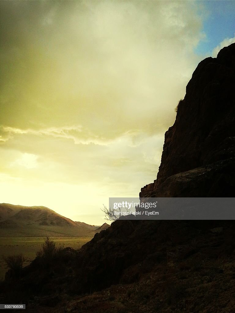View Of Landscape At Sunrise : Foto stock