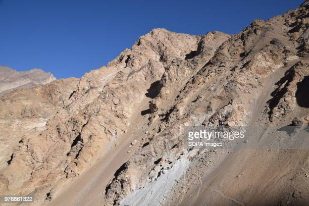 BADAKHSHAN AFGHANISTAN A view of Lapis lazuli mine Pitawuk Mahdani Lojward Over the past years the government embargoed what it deems to be illegally...